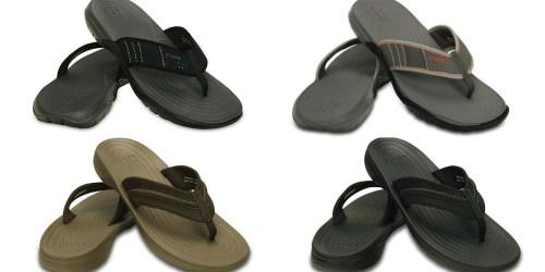 Crocs Men's Flip Flops Only $19.99 Shipped (Regularly $39.99) + More