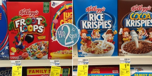 CVS: Select Kellogg's Cereal Only 87¢ Per Box
