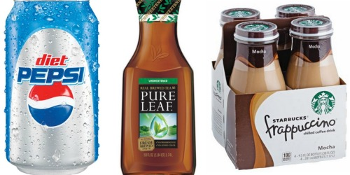 Target Shoppers! Upcoming $5 Off $15 Pepsi Beverages Coupon – Includes Starbucks (Starting 9/11)