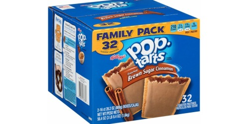 Amazon: Brown Sugar Cinnamon Pop•Tarts 32 Count Box Only $5.78 Shipped (Just 18¢ per Pop•Tart)
