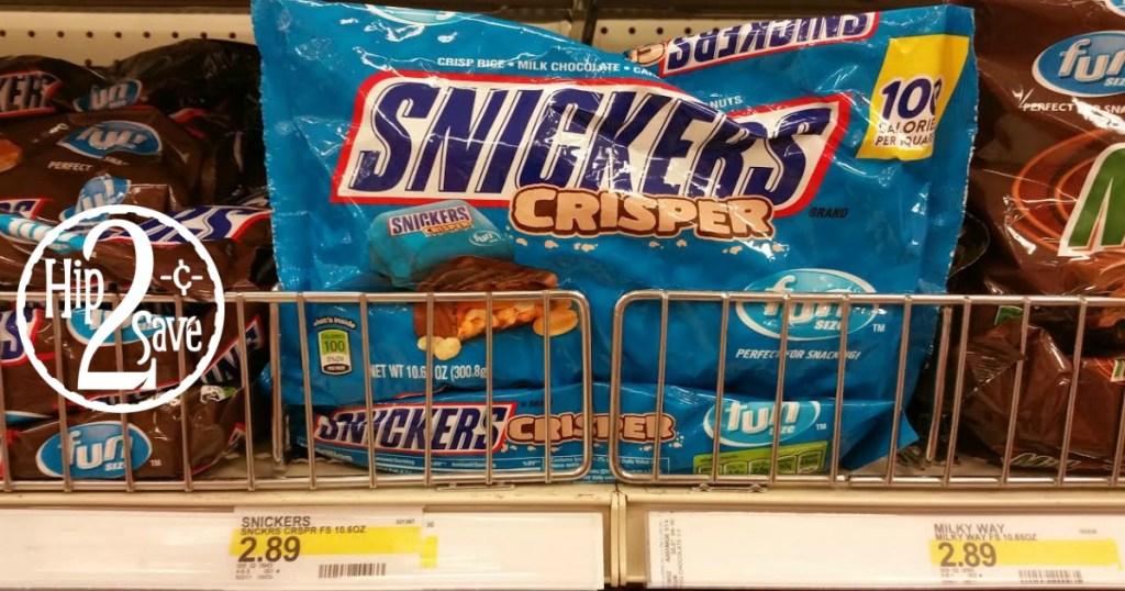 Snickers Crisper - Target