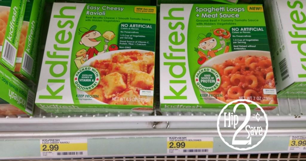 Kidfresh Frozen Meal Target