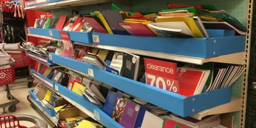Target Reader Clearance Finds: Up to 90% Off School Supplies & Dollar Spot Items