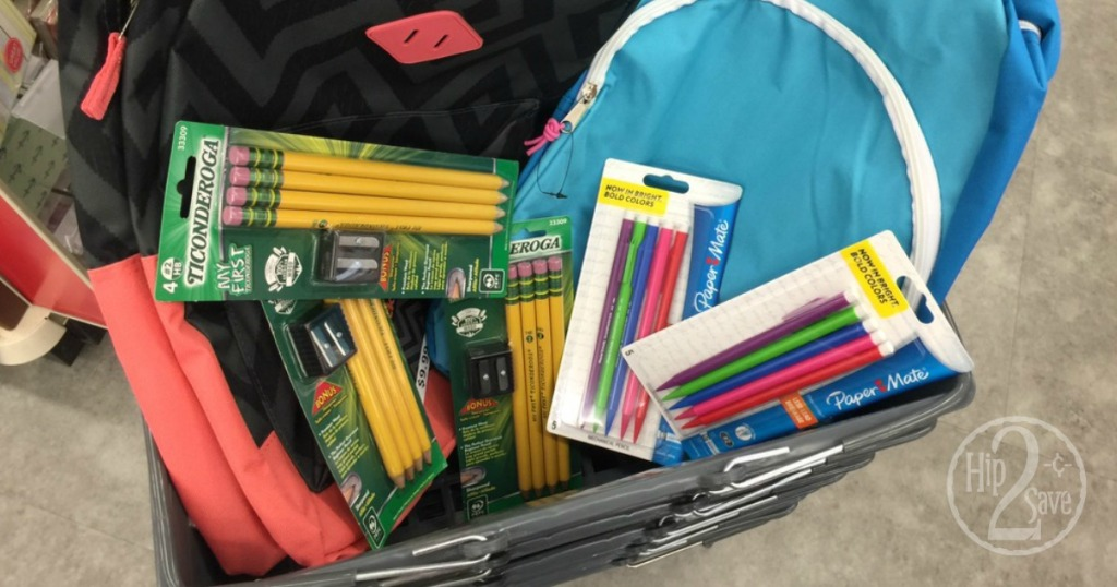 90% Off School Supply Cleatance at Walgreens