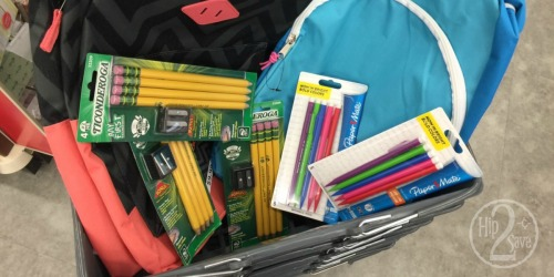 Walgreens 90% Off School Supply Clearance Deal Idea: 7 Items (Including 2 Backpacks) ONLY $3