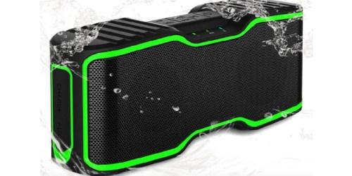 Amazon: Waterproof Portable Bluetooth Speaker Only $29.99 (Regularly $99.99)