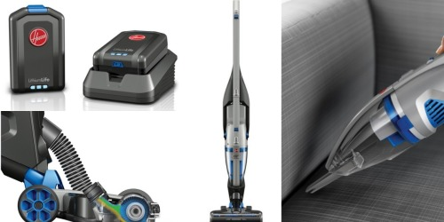 Hoover Factory Sale: Cordless 2-in-1 Deluxe Stick & Hand Vacuum Only $84.99 Shipped (Reg. $159.99)