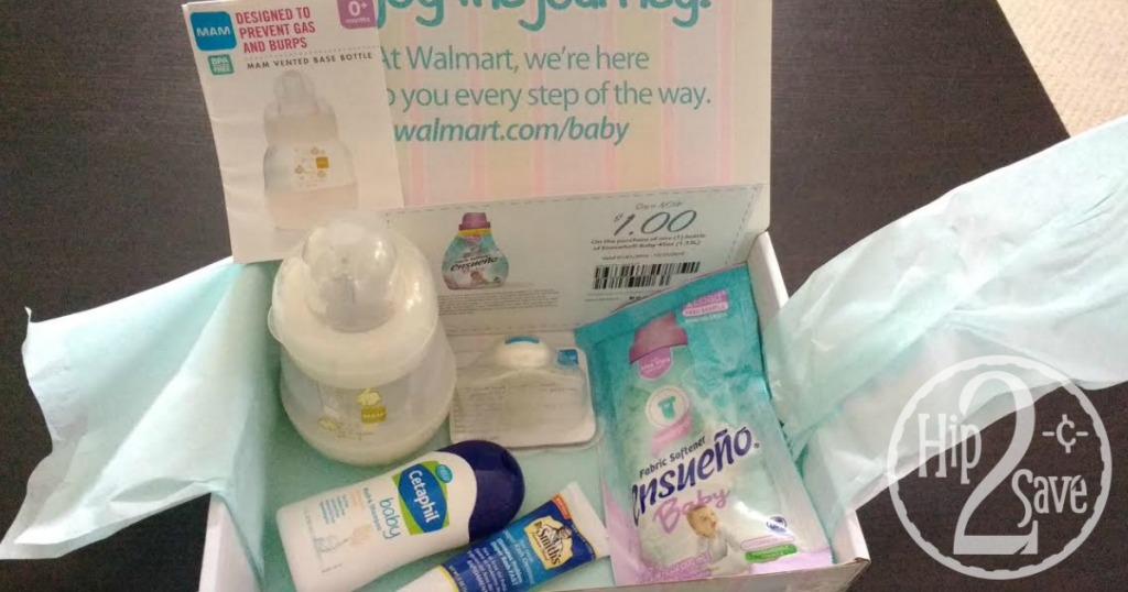Walmart: FREE Baby Welcome Box (Available Again) - Hip2Save