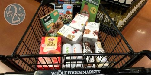 Whole Foods: Lots of Awesome Freebies & Deals (Enjoy Life, Tazo Tea, Back to Nature & More)