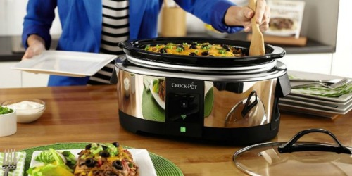 Amazon: Crock-Pot 6-Quart WiFi Enabled Only $98.54 Shipped (Regularly $149.99)