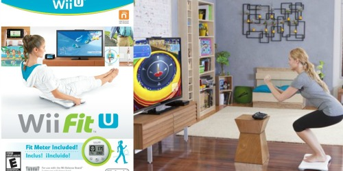 Nintendo Wii Fit U Bundle with Balance Board & Fit Meter ONLY $14.99 Shipped (Regularly $39.99)