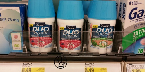 Target: Zantac Duo Fusion 20ct Just 62¢ Each