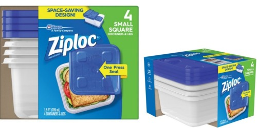 3 *NEW* Ziploc Coupons = Sandwich Bags, Storage Bags & Containers Only $1.25 at Walgreens
