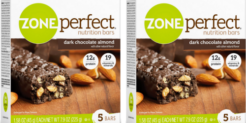Amazon: ZonePerfect Bars 30 Count ONLY $18.10 Shipped