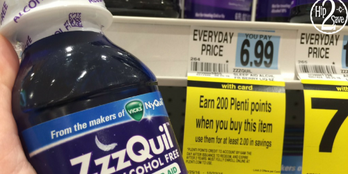 Rite Aid: ZzzQuil ONLY $1.99 After Plenti Points (Regularly $6.99)