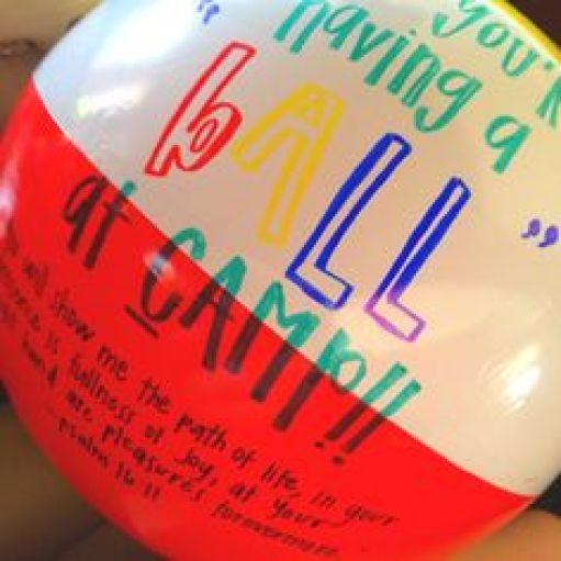 Mail a beach ball
