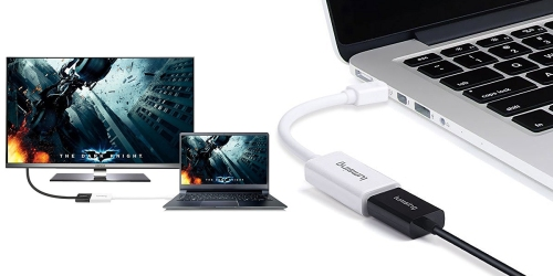 Amazon: Mini DisplayPort Adapter Only $6.99 (Regularly $15.99) – Connect Computer to TV