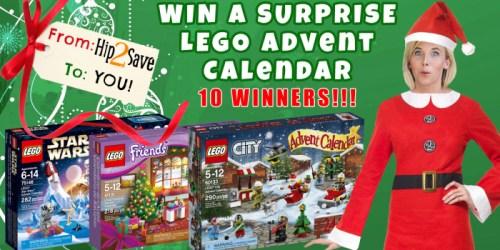 10 Hip2Save Subscribers Win LEGO Advent Calendar