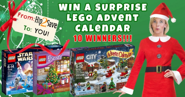 Hip2Save Giveaway LEGO Advent