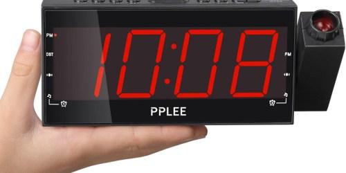 Amazon: $19.99 LED Projection Dual Alarm Clock
