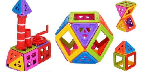 Amazon: Newisland Magnetic Building Blocks 66-Piece Set ONLY $17.99 (Great Gift Idea)