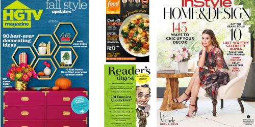 Amazon Prime Members: 99¢ 4-Month Magazine Subscription (Taste of Home, HGTV & More)