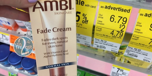 Walgreens: Ambi Fade Cream Just $2.29 Each