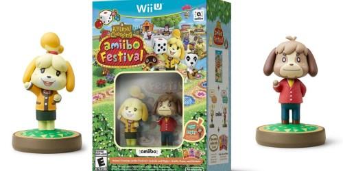 BIG Savings on Animal Crossing: amiibo Festival Set for Wii U & More