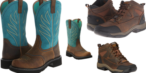 Shoebuy.com: $40 Off a $99+ Purchase & FREE Shipping = Ariat Boots $59.95 Shipped (Reg. $129)
