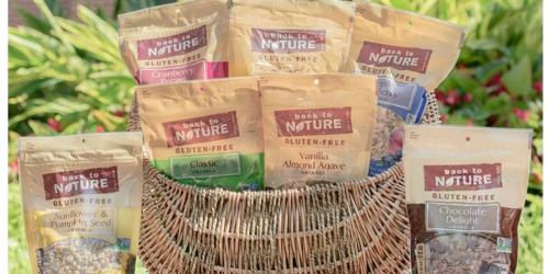 Target: Gluten-Free Back to Nature Products Only $1.19 Each After Ibotta (Regularly $3.99)