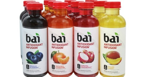 Amazon: Bai Antioxidant Infused Beverages 12-Pack Only $12.99 Shipped