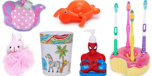 Nice Buys on Kids' Bathroom Essentials – Save on Toys, Bath Rugs, Shower Curtains & More