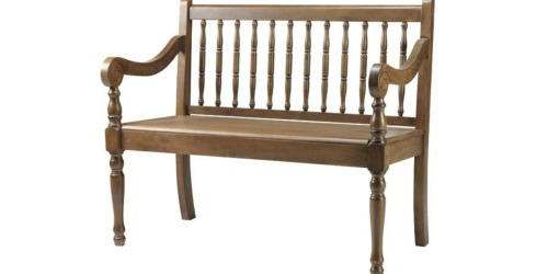 Home Decorators Collection: Extra 20% Off Outlet Items = Savannah Bench Only $57.59 Shipped