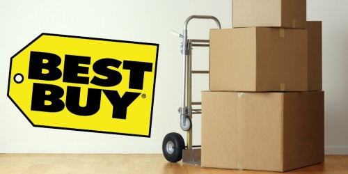 Moving Soon? Possibly Score A $10 Best Buy Savings Code When You Join The Mover's Program