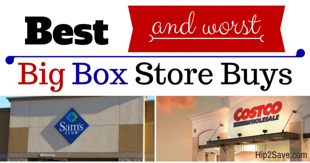 Big Box Store Buys