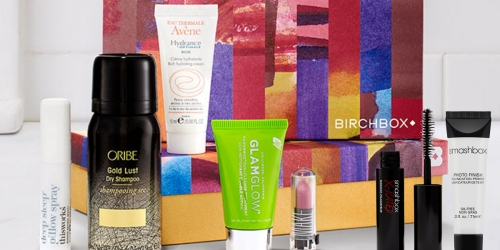 New Birchbox Subscribers: $10 Shipped for 5 Deluxe Beauty Samples + Smashbox Primer & Mascara Duo
