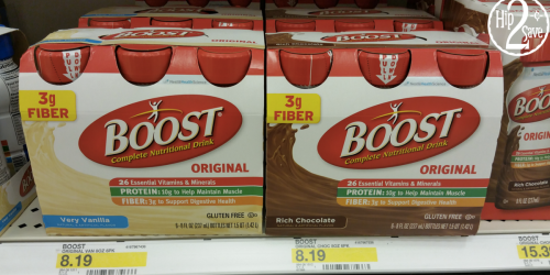 NEW $3/1 Boost Coupon = Boost Nutritional Shakes 6-Packs ONLY $2.70 Each at Target