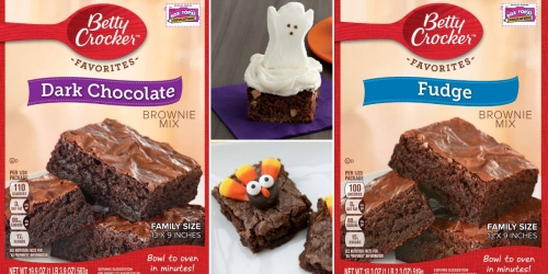 Target: 30¢ Betty Crocker Brownie Mix (After Ibotta)