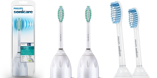 Amazon: 2 Pack of Philips Sonicare Replacement Toothbrush Heads Only $13.95 Shipped