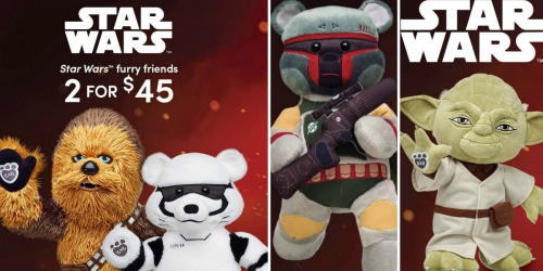 BuildABear Star Wars Furry Friends $22.50 Each Shipped (Regularly $35 Each)