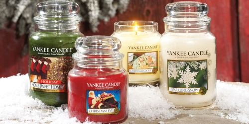 Yankee Candle: NEW Buy 1 Get 1 Free Large Classic Jars, Tumbler or Vase Candles Coupon