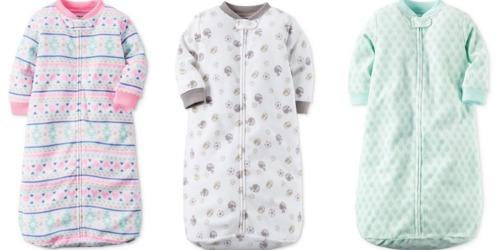 Macy's: Extra 25% Off Kid's Clothing = Carter's Sleepbags Only $6.74 (Regularly $18)