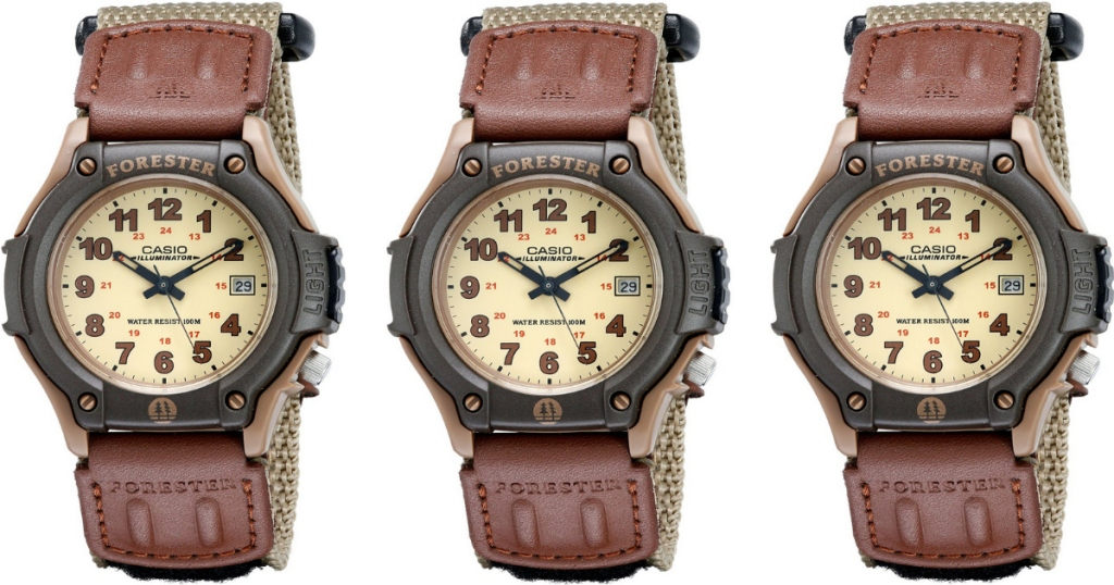 ce85738e57f2 Amazon  Highly Rated Casio Men s Forester Sports Watch Only  11.99  (Regularly  29.95) – Best Price