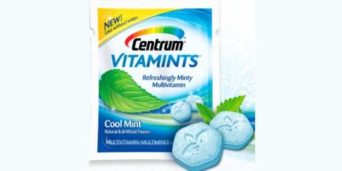 Print a High Value $4/1 Centrum VitaMints Coupon