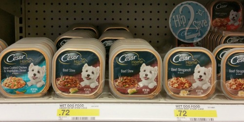 Target: Cesar Single Tray Entrees as Low as 22¢