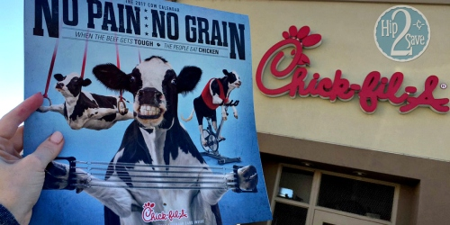 Chick-fil-A 2017 Coupon Calendar NOW Available (Includes 12 FREE Food & Drink Coupons)