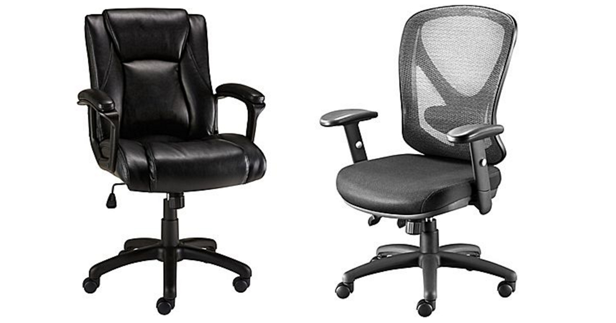 Staples Bristone Luxura Managers Chair Only 69 99