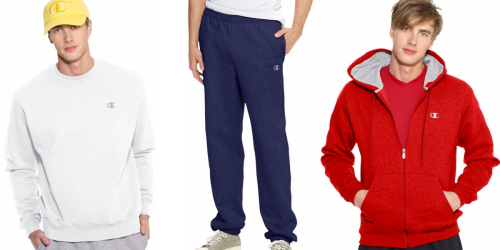 Champion Fleece Sweats, Hoodies & More Under $10 Shipped