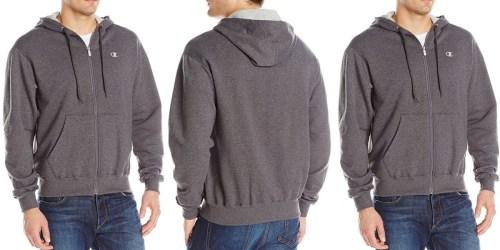 Amazon: Champion Men's Full-Zip Eco Fleece Hoodie Jacket Only $9.99 (Regularly $38)