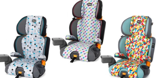 Chicco KidFit Zip 2-in-1 Belt Positioning Booster Car Seat $79.99 Shipped (Regularly $129.99)
